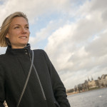 Danish athlete Anna Baumeister, pictured by the lakes in Copenhagen